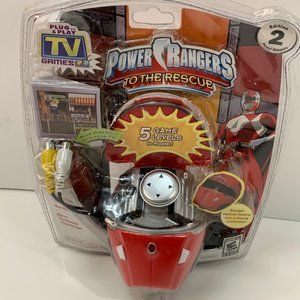 Power Rangers to The Rescue Plug And Play TV Game